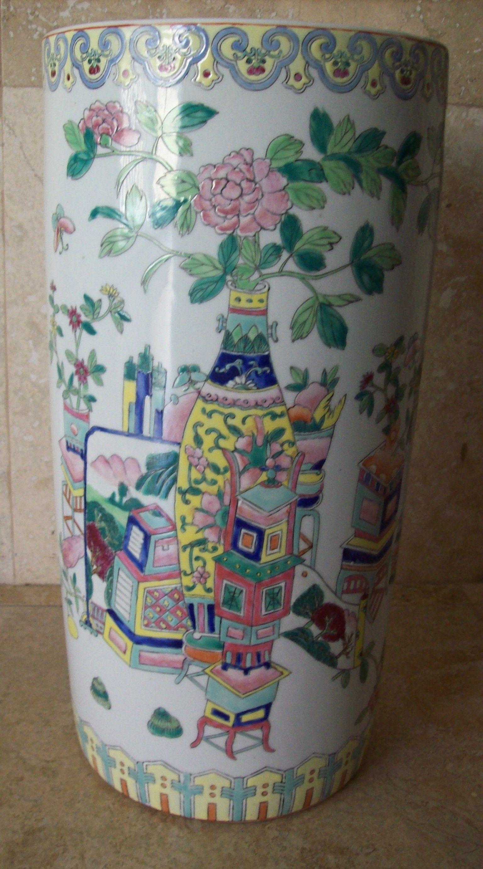 Antique chinese porcelain umbrella stick stand signed with reign antique chinese porcelain umbrella stick stand signed with reign mark reviewsmspy