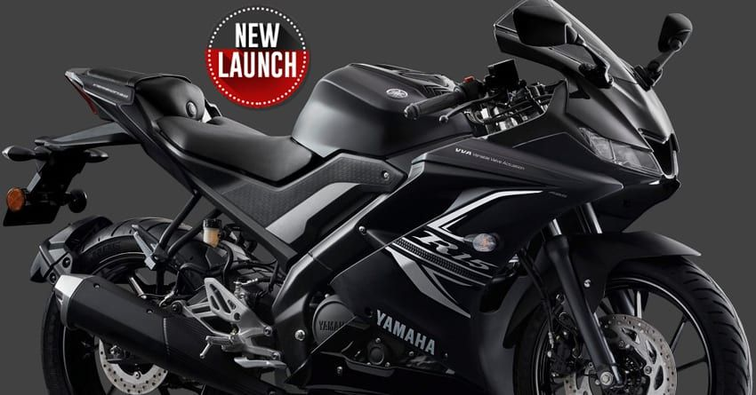 Yamaha R15 V3 Darknight Edition Launched Inr 1 41 Lakh Product