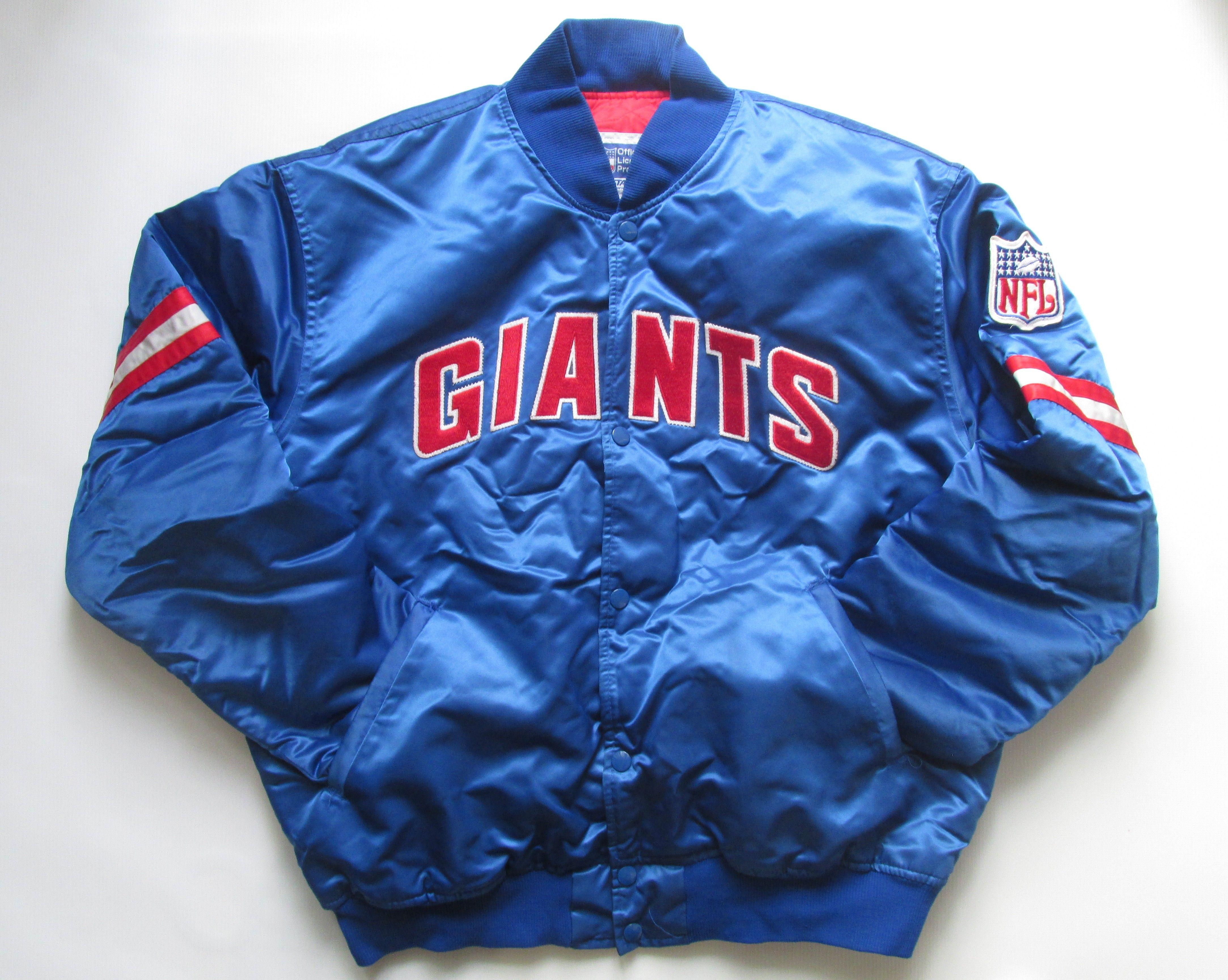 cc8b397f New York Giants 80s 90s NFL top jacket by Starter vintage vtg retro NYG USA  #