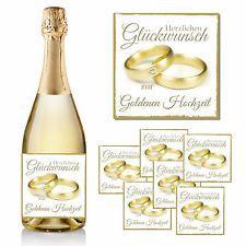 1 Flaschenetikett Zum Hochzeitstag 10x10 Goldene Hochzeit Ringe Geschenk Goldene Hochzeit Hochzeit Hochzeit Ringe