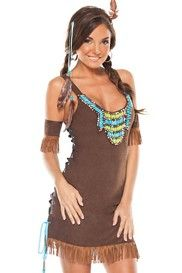 Little Indian Girl Costume Set by Coquette  sc 1 st  Pinterest & Little Indian Girl Costume Set by Coquette | Womenu0027s Halloween ...