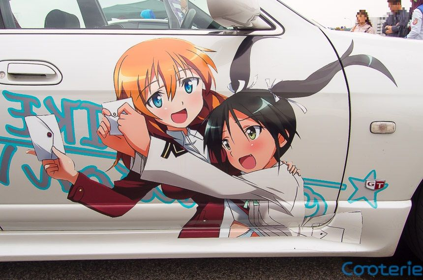 Strike Witches Francesca Lucchini character decal