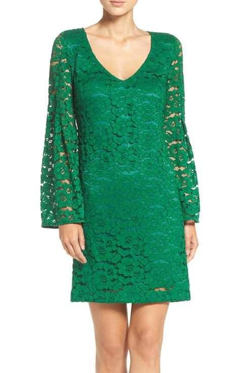 trina Trina Turk Revue Lace Shift Dress