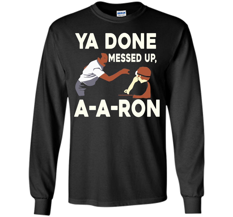 AARON - YADONE MESSED UP AARON T-SHIRT T-Shirt