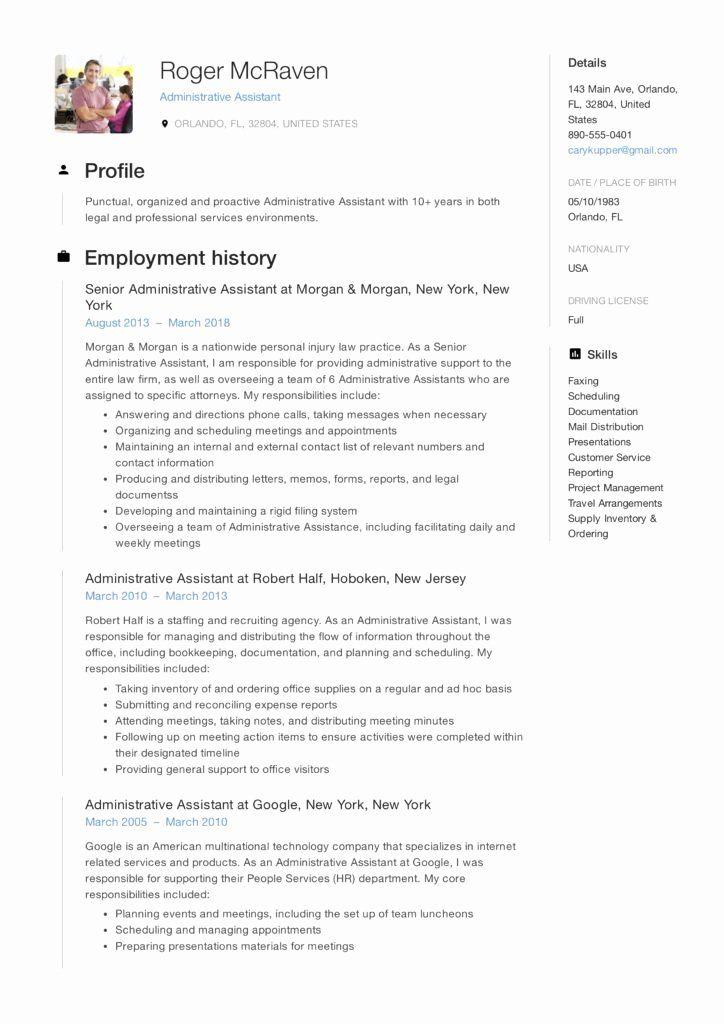 office assistant cv sample pdf