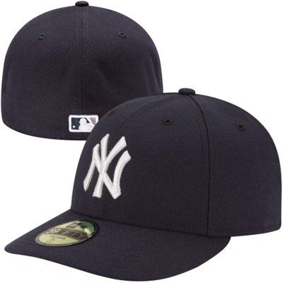 65685e42dd40c New Era New York Yankees Low Crown AC 59FIFTY On-Field Fitted Performance  Hat - Navy Blue