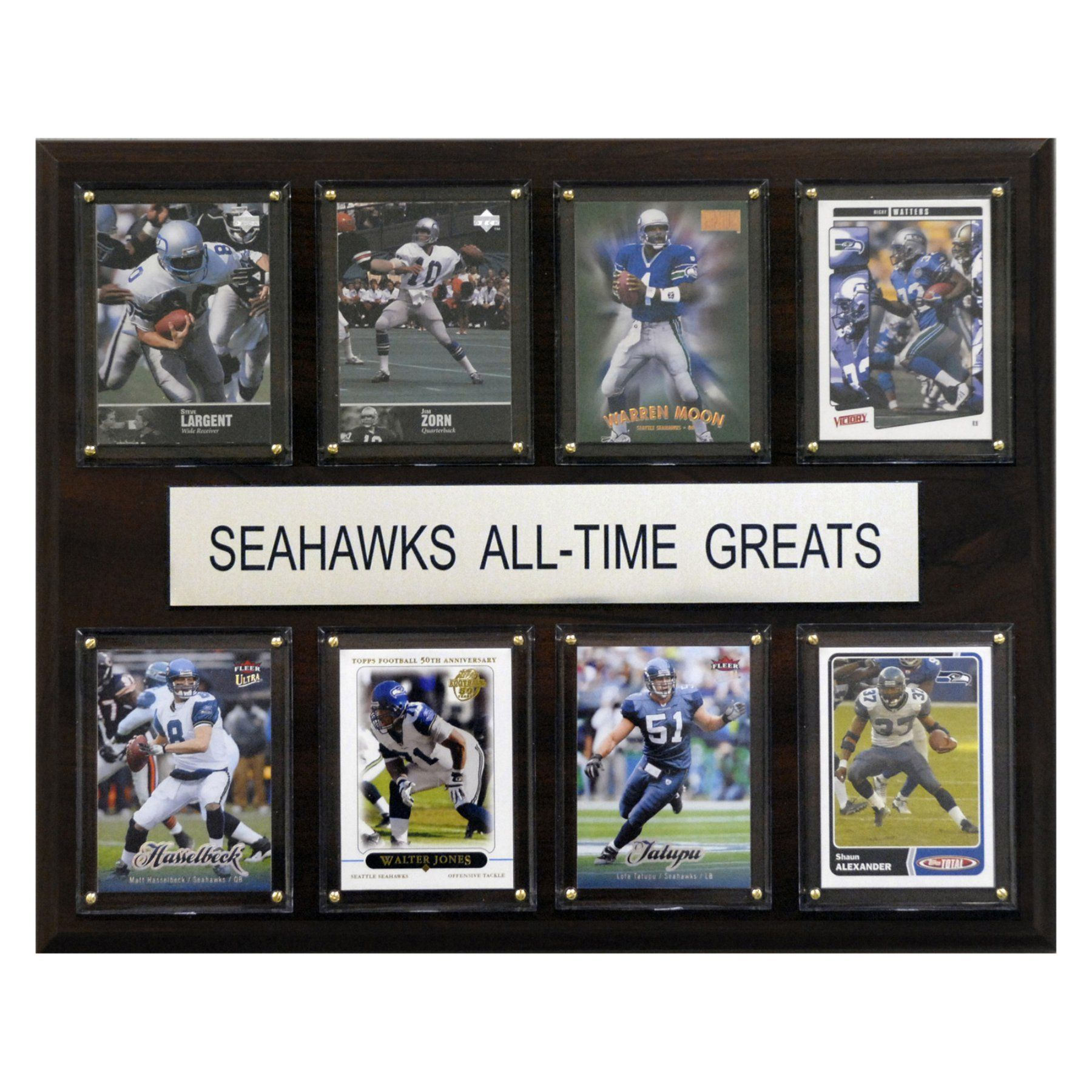 NFL 12 x 15 in. Seattle Seahawks All-Time Greats Plaque - 1215ATGSEAH