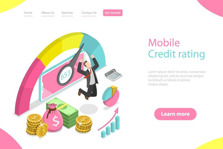 Mobile credit rating app in 2020 App, Credit rating