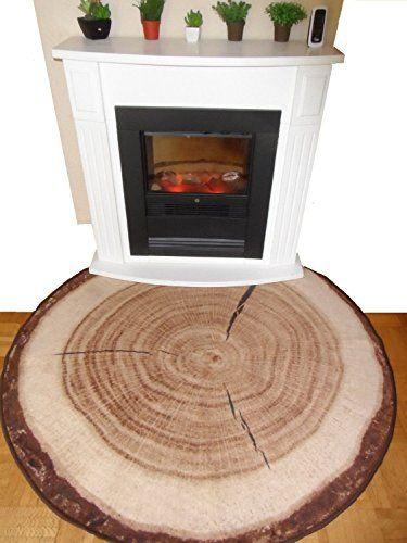 Bringen Sie Die Natur In Ihr Wohnzimmer Baumstamm Teppich