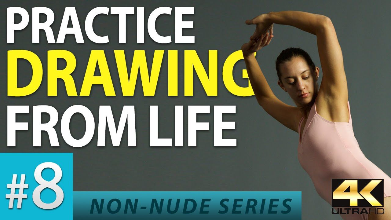 Practice Drawing from Life - Figure Drawing Reference Images