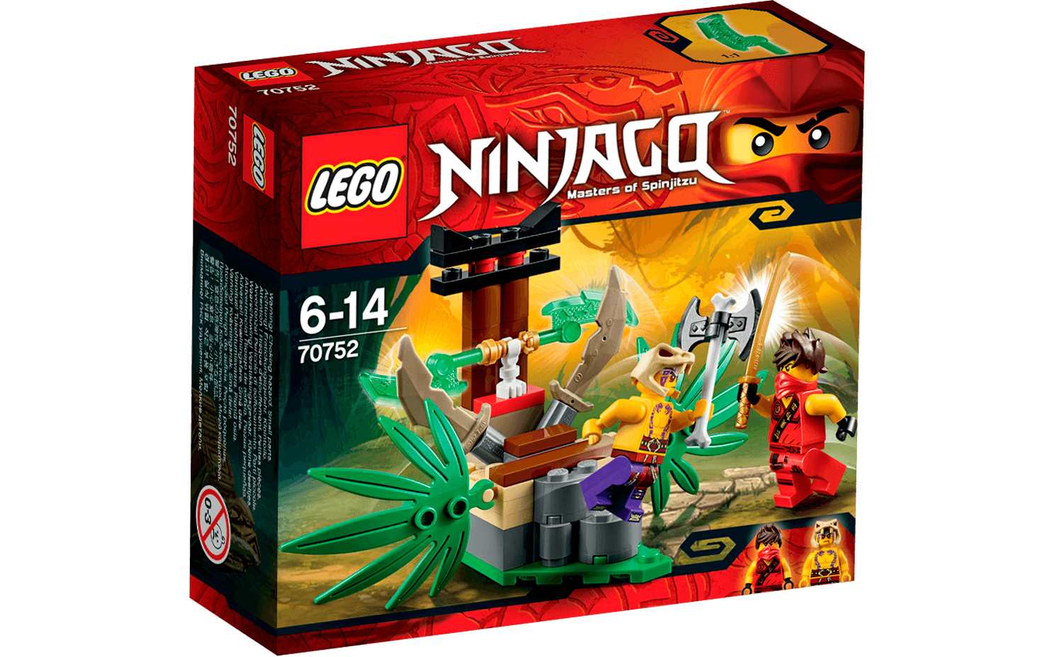 Ninjago - 70752 Jungle Trap