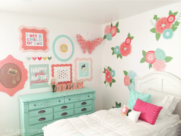 You won't believe the before and after of this Girl's Room Makeover. Come check out what time plus DIY will get you!