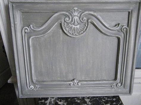 Ces portes de meuble trouvées sur une brocante pour 3 fois rien - comment patiner un meuble en merisier