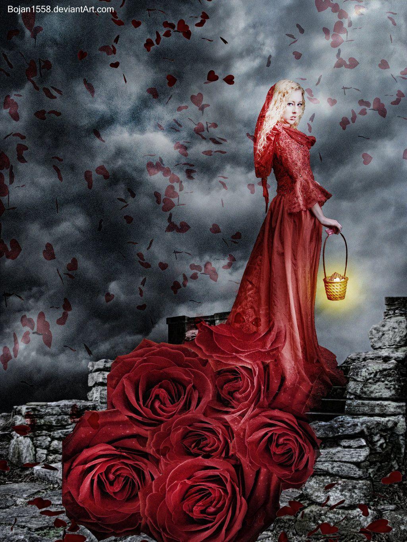 Rose Girl by Bojan1558.deviantart.com on @deviantART