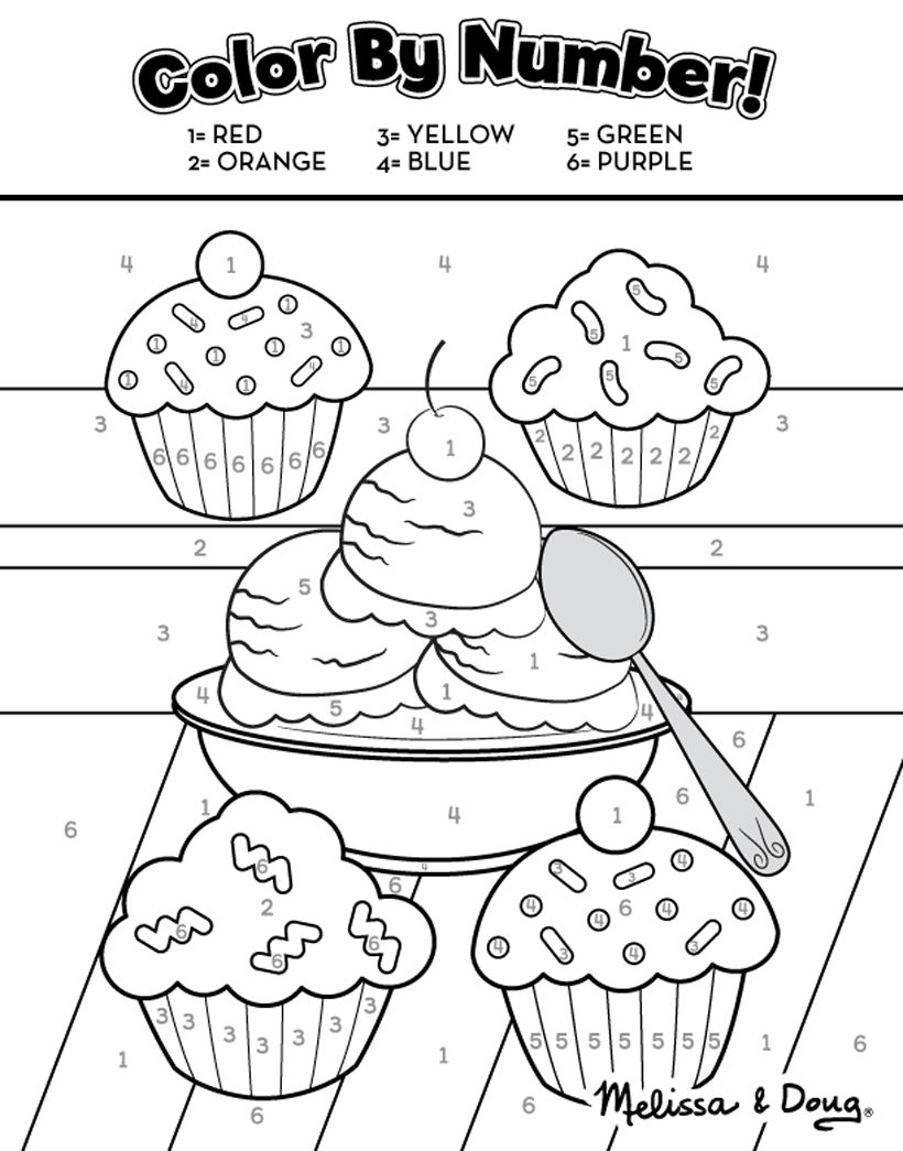 Sweet Treats: 2 Free Printable Activity Pages *Kids can