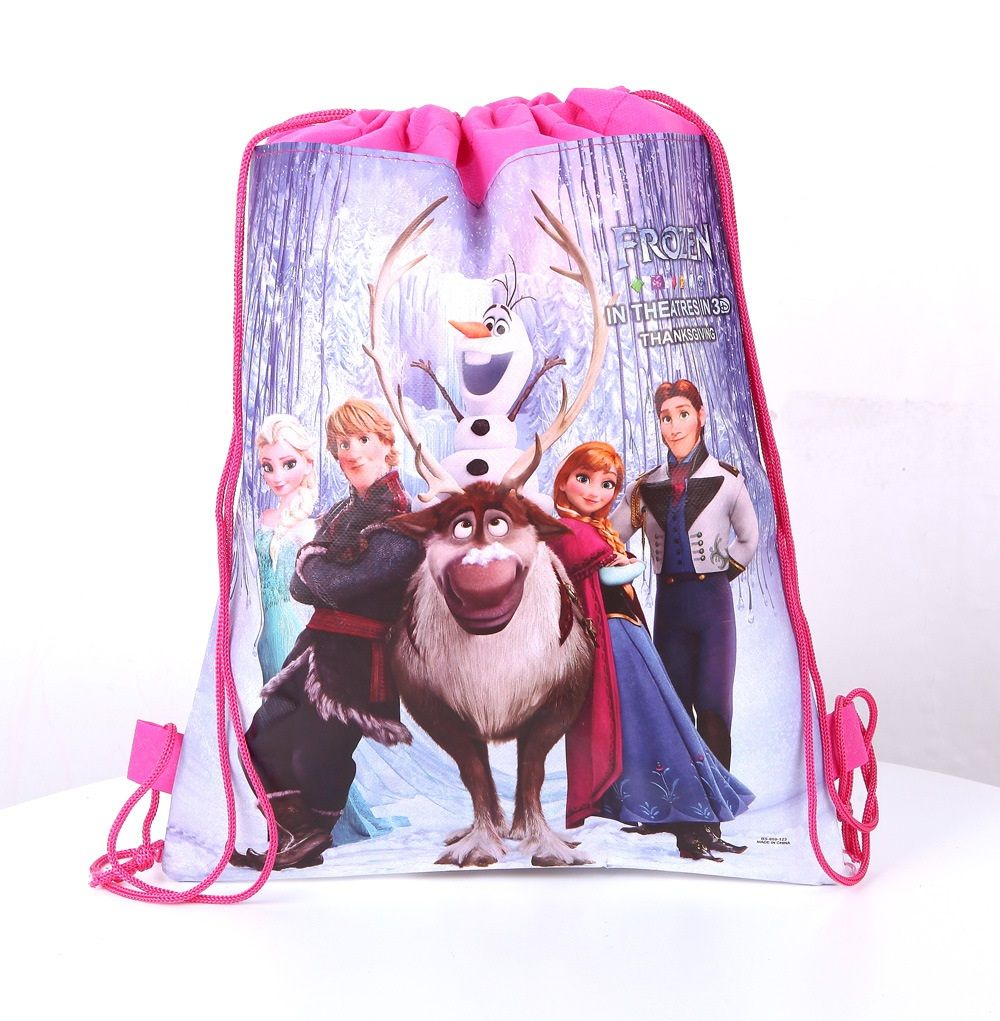 New Disney Backpack Swimming Clothes Environmental Toy Kid/'s Drawstring Bag Gift