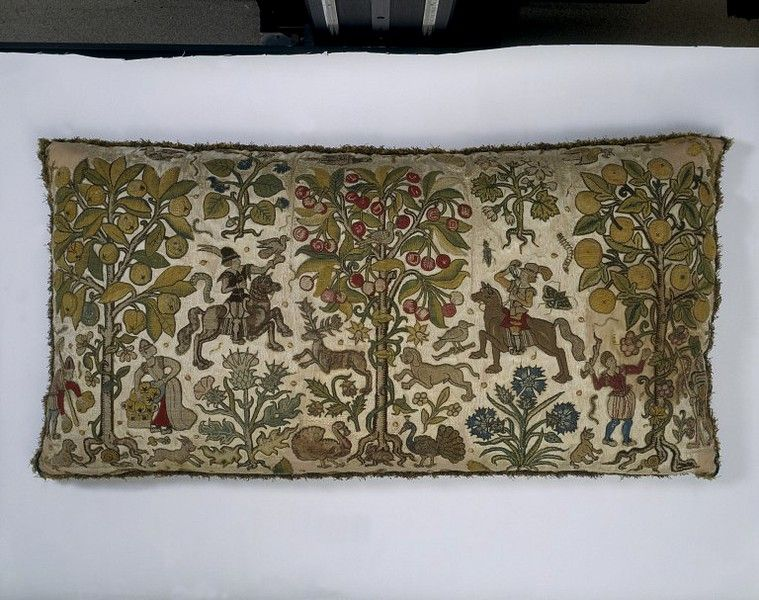 Pillow cover | | V&A Search the Collections