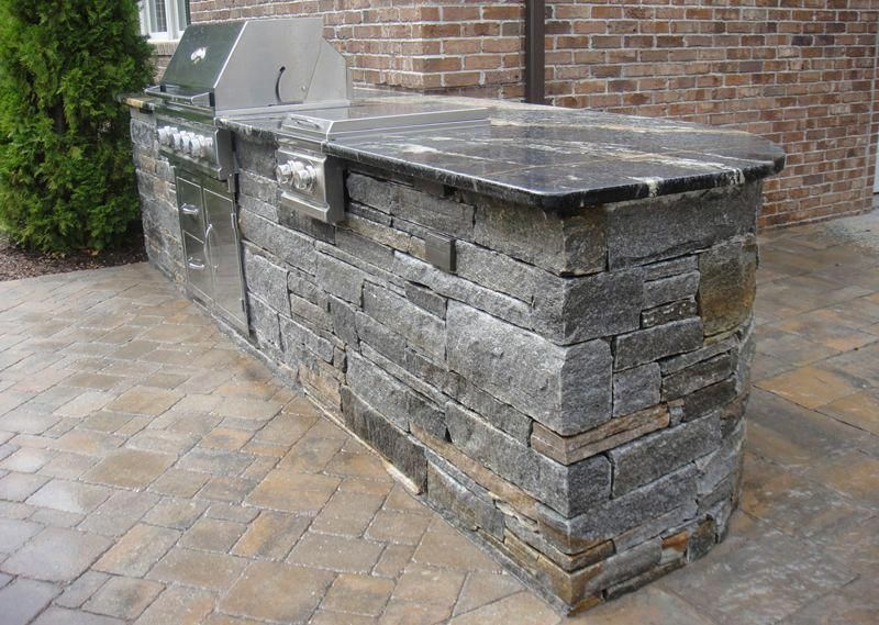 5 Stones That Are Perfect For An Outdoor Kitchen Countertop