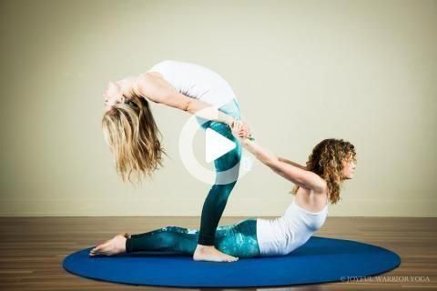 yogaposesforbeginners partner acro yoga poses see more