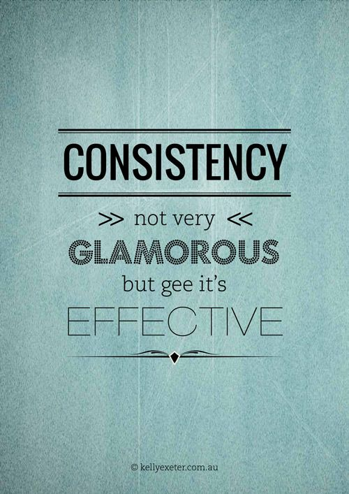 And Judith Hanson Lasater Says That Consistency Is The Highest Form