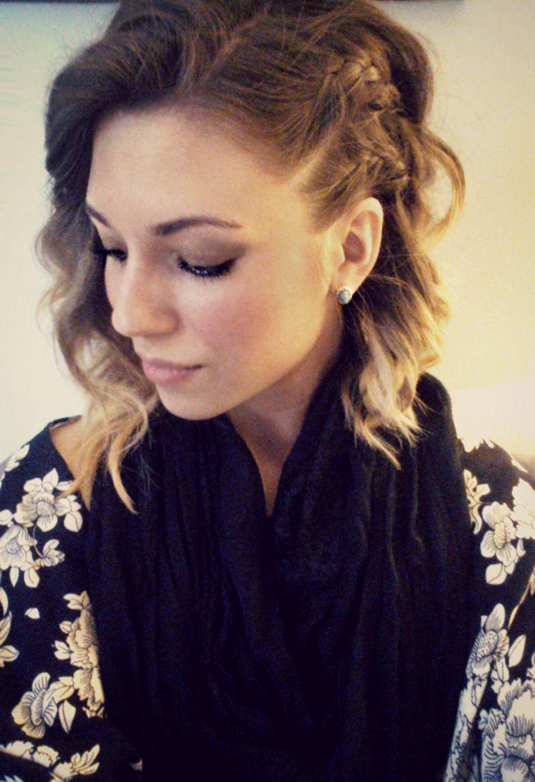 30+ Braid on side of head with curls ideas