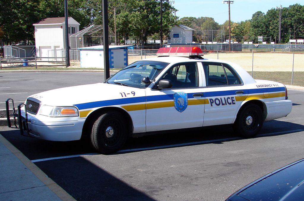Buena (NJ) Boro Police 119 2002 Ford CVPI Victoria