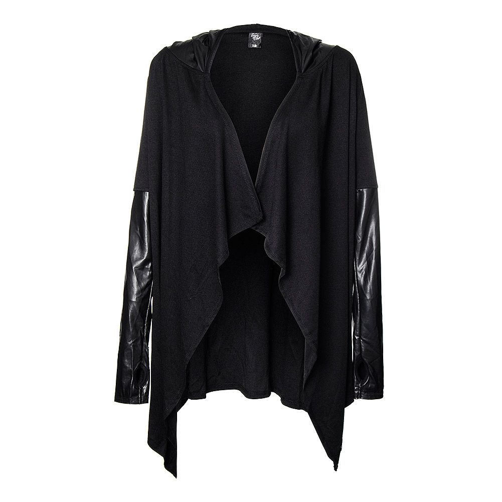 Sullen Angels Cleo Native Duster Hoodie (Black)