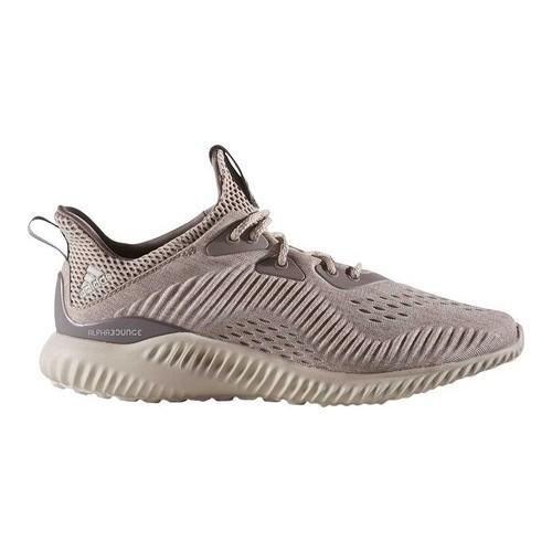 616deda499386 Women s adidas AlphaBOUNCE EM Running Shoe Tech Earth F16 Clear  Crystal  White S16