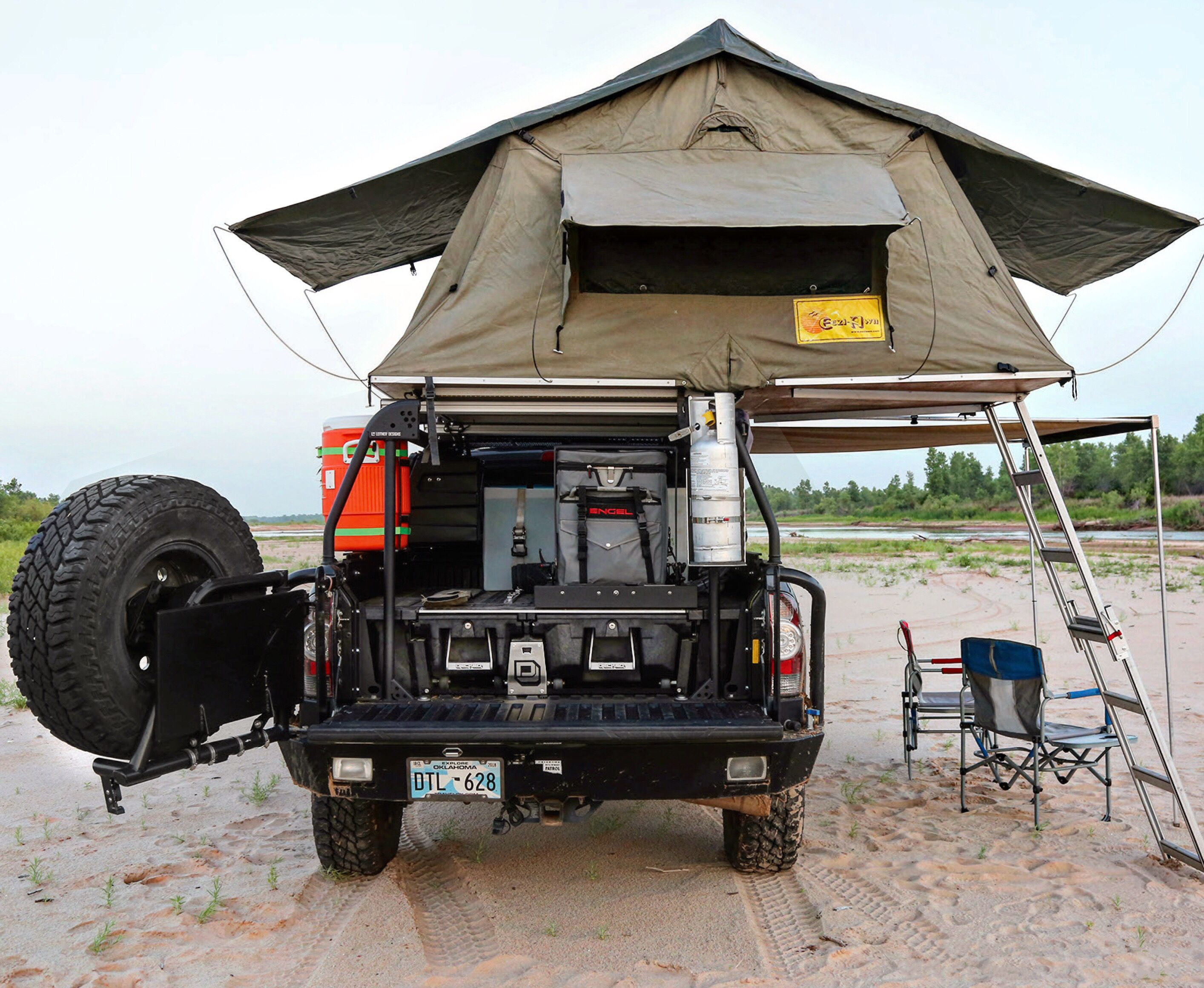 Decked Cargo Storage For Tacoma Featured In Outdoorx4 Mag Truck Bed Storage Decked Truck Bed Overlanding