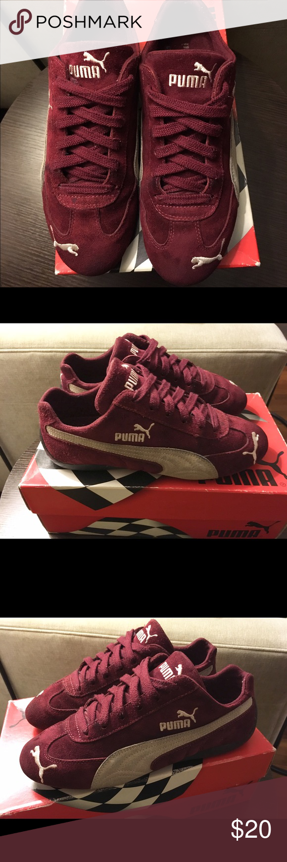 rencontrer 4d158 5900f PUMA Speed Cat PUMA Speed Cat in burgundy, color of the ...