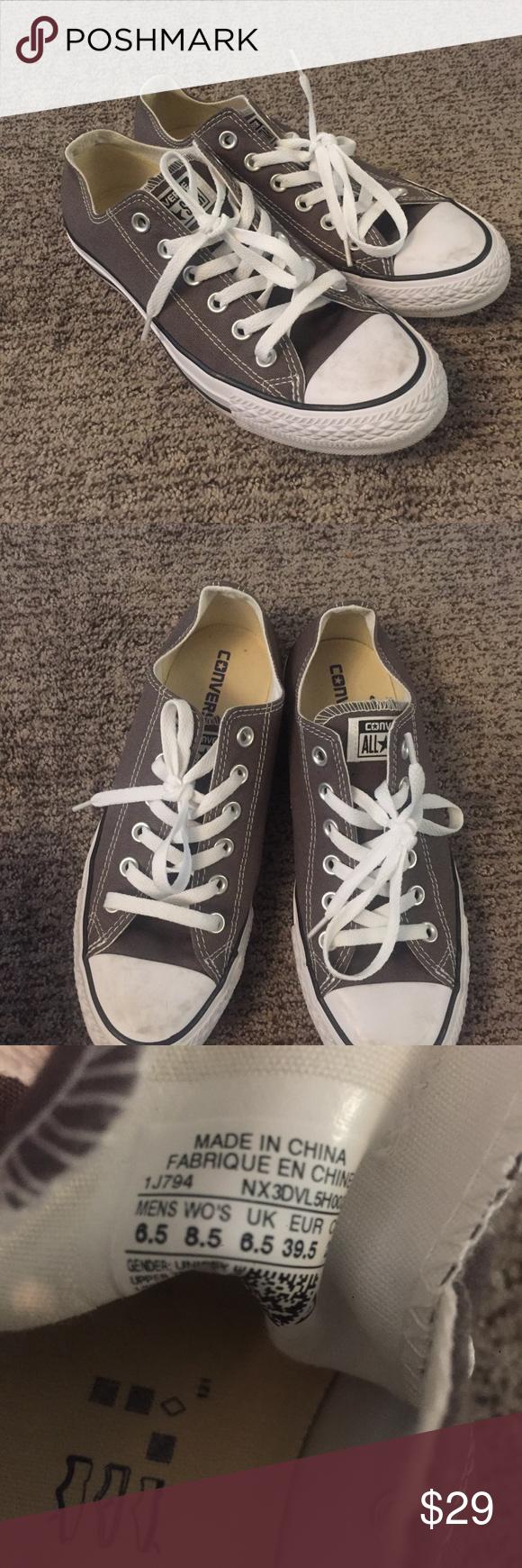 725cc00b0929 Converse chuck Norris gray women 8.5 men 6.5 Converse chuck Norris gray  women 8.5 men 6.5 great used condition Converse Shoes Sneakers