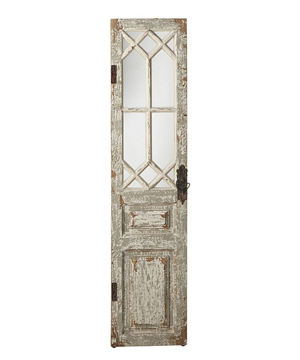 Look at this Antique Door Wall Mirror on #zulily today!