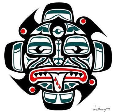 Cherokee indian tribal art cherokee tribal symbol for White heritage tattoos
