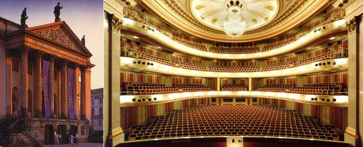 Berlin State Opera To Rebuild Main Hall Viajes Entrada Lindo
