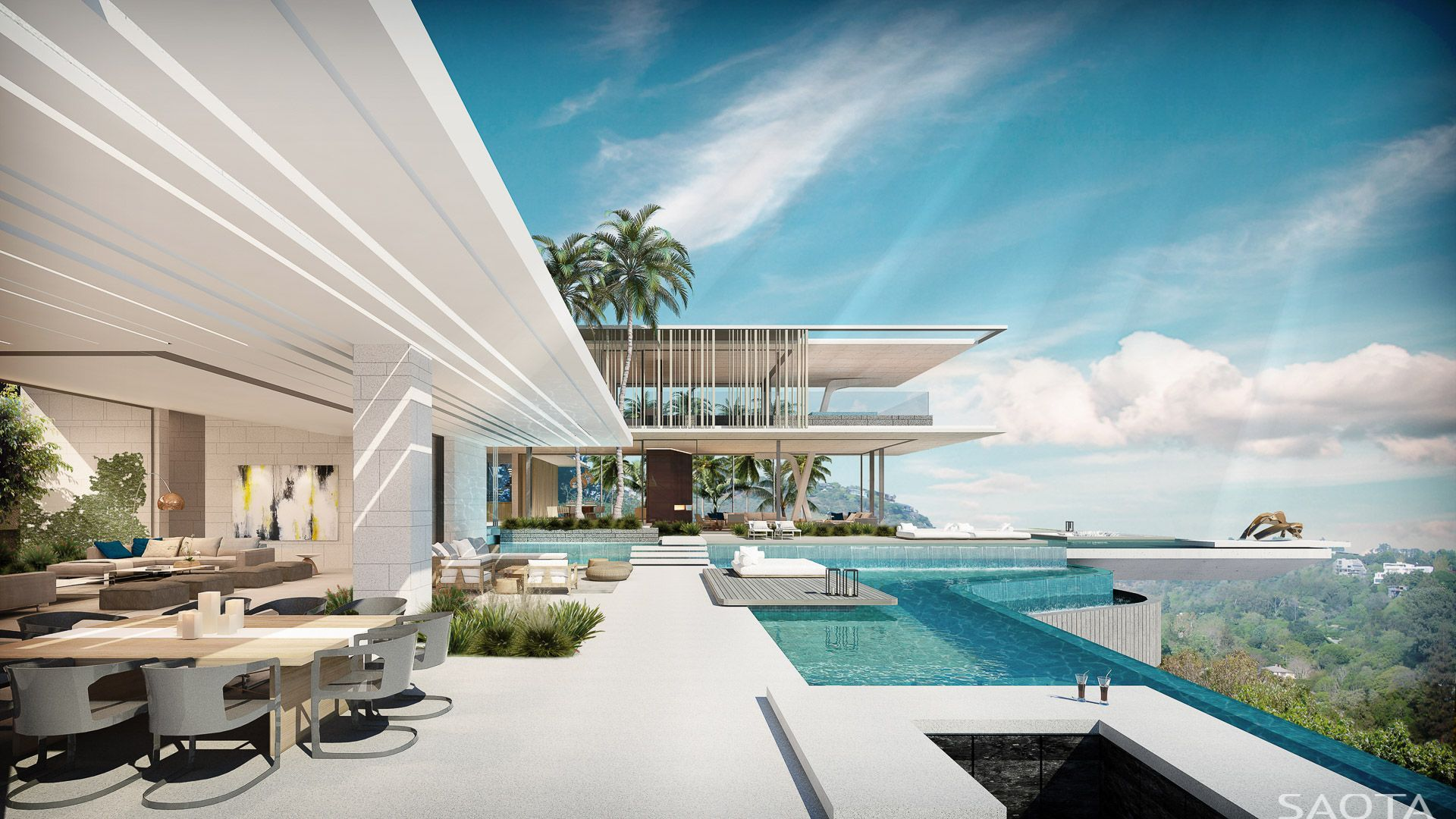 SAOTA x Studio Parkington Cliffside Residence recommendations
