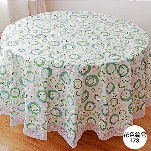 Mh Rita The Tablecloth Fabrics Waterproof Thick Plastic Round Table Drape B 220cm Diameter Tablecloth Fabric Table Cloth Home Decor