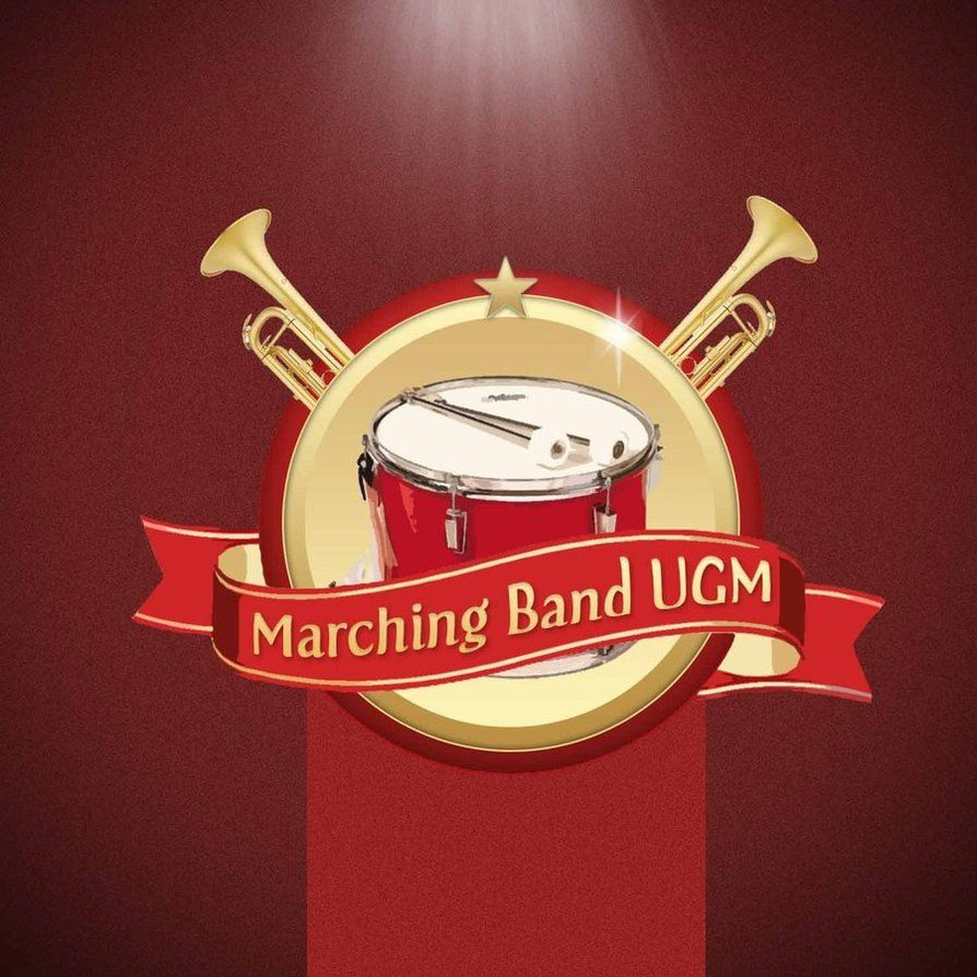 Marching band vector logo emblem. #vector #stock #marchingband ...