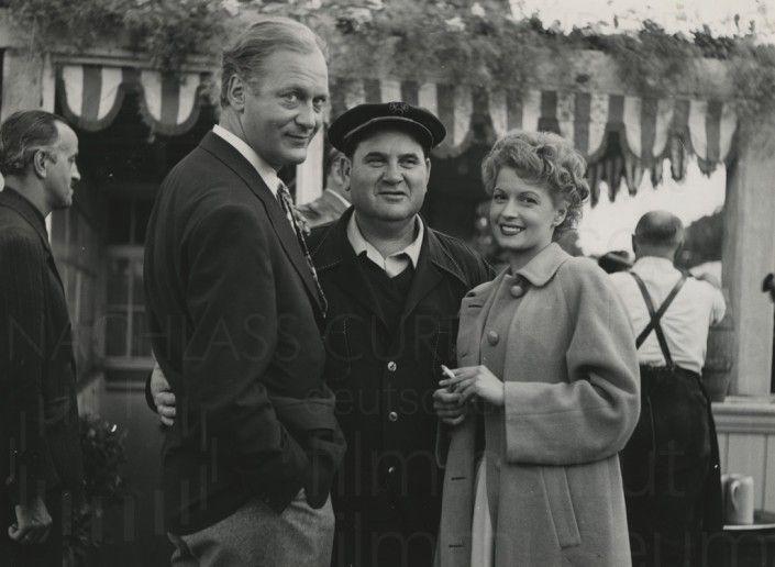 RUMMELPLATZ DER LIEBE (1954) Werkfoto 2