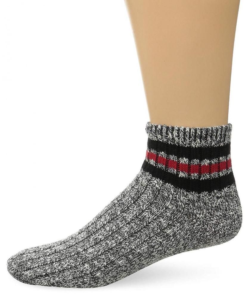 8fd7707120 Wigwam Men's Mar-Lee Classic Ragg Textured Quarter Sock #fashion ...