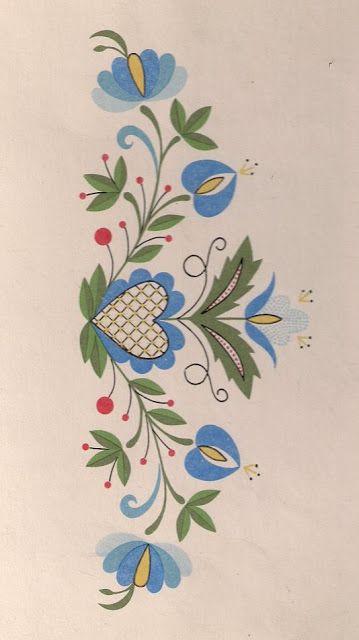 Heklowana zapaska: Haft kaszubski | Folk embroideries - Poland by ...