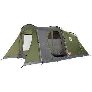 Four Person Green Coleman Da Gama 4 Tunnel Tent