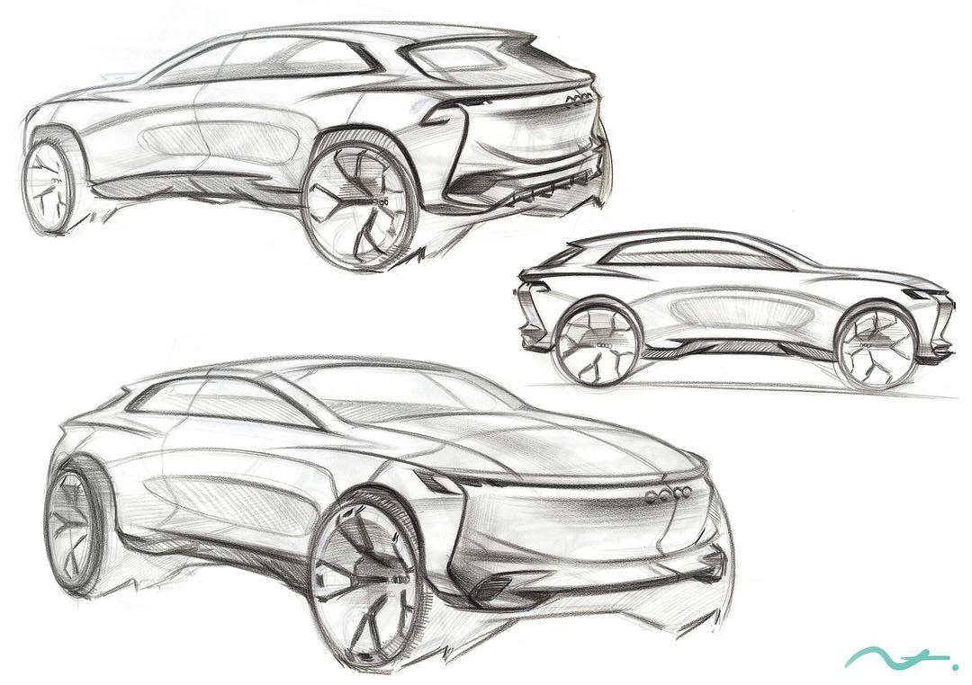 Audi Redesign Car Sketch Hot Sketches Pinterest Car Sketch