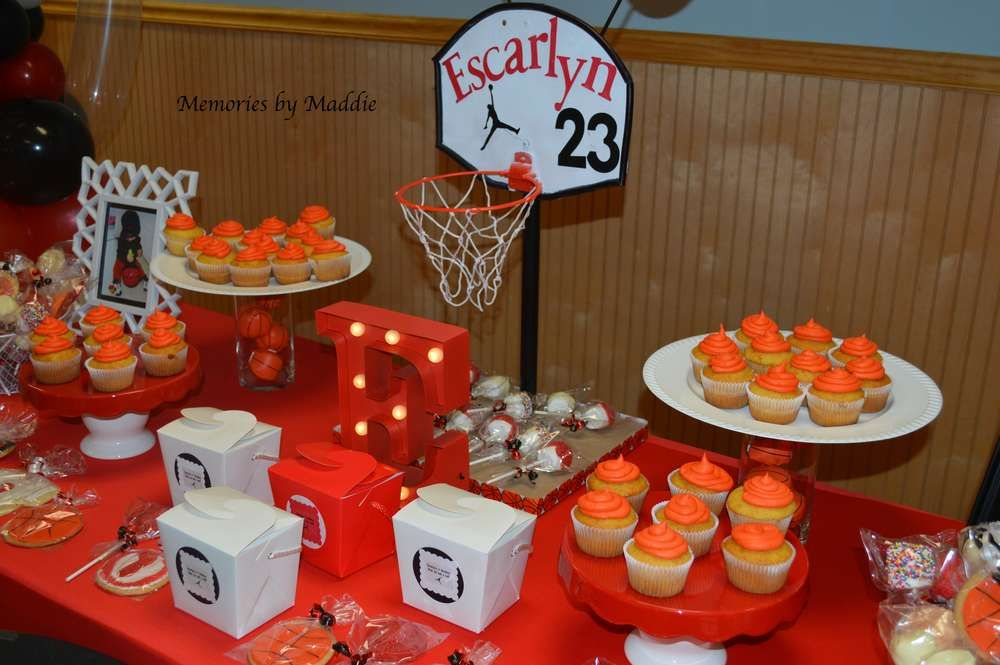 Michael Jordan Basketball Birthday Party! See More Party Planning Ideas At  CatchMyParty.com!