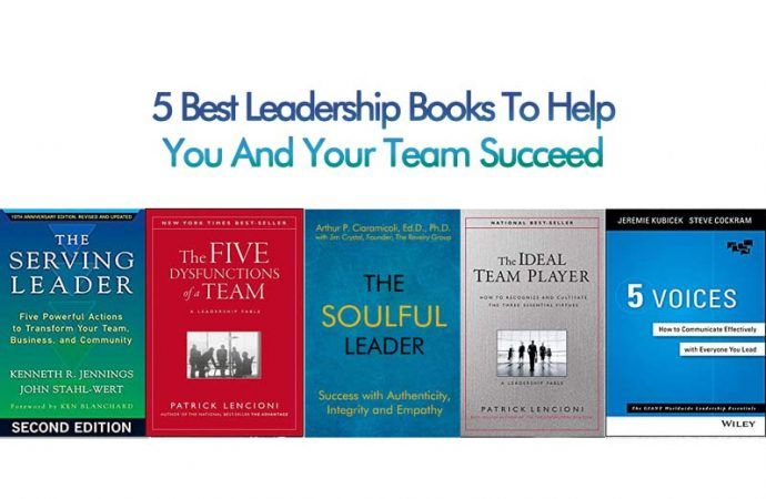 5 Best Leadership Books To Help You And Your Team Succeed