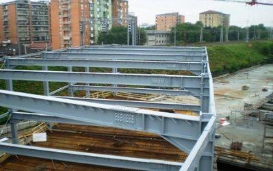 Carpenteria metallica  - struttura metallica portante per caoannoni e edifici milano
