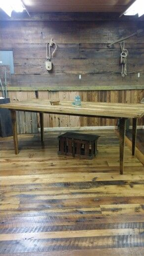 Pin By Sherryjo On New House With Images Rustic Dining Table Wall Decor How To Antique Wood