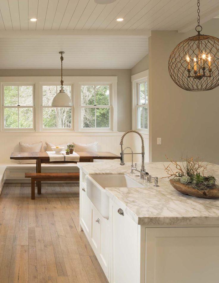Inside a Stylishly Simple Modern Farmhouse | Cocinas, Buena vista y ...