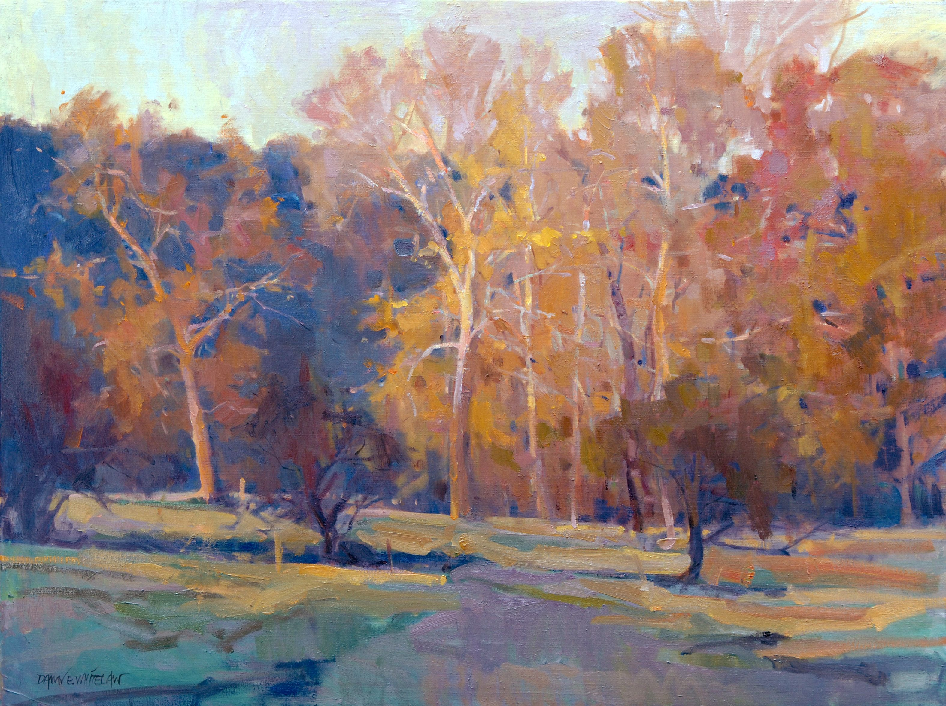 To Dance In The Light By Dawn Whitelaw Landscape Paintings Painting West Art