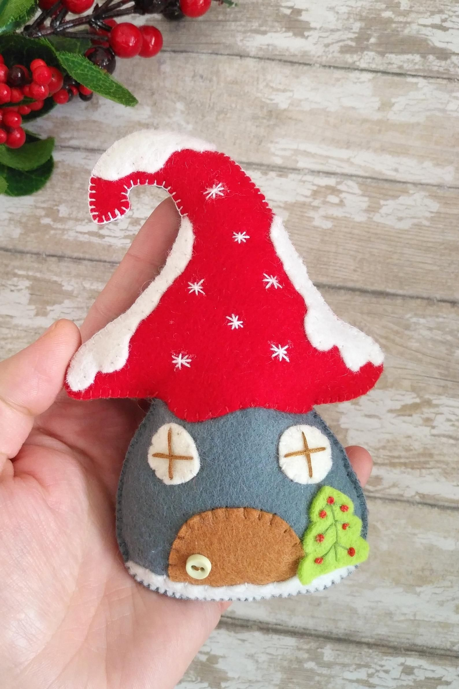 Felt Gnome Ornament Pattern Felt Christmas Ornaments Tomte Swedish Gnome Gnomes Sewing Pattern Christmas Gnomes Pattern Felt Gnome Pdf Decor In 2021 Handmade Felt Ornament Felt Christmas Ornaments Felt Ornaments Patterns