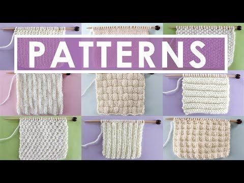 Knit And Purl Stitch Patterns Stitch Patterns And Crochet